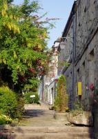 La-rue-du-Docteur-Quéré à Guerlesquin